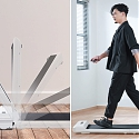 This 180° Foldable Treadmill is a Space-Saving Alternative - The WalkingPad S1