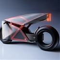 Stunning Translucent Motorcycle Concept Allows You to See the Chassis