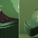 This Self-Sustaining Compost System Turns Your Food Scraps Into a Thriving Indoor Garden