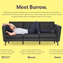 Furniture Startup Burrow Raises $25M for Modular Sofa System