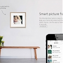 Inkless Printing and Smartframes Bring Living Room Walls Online