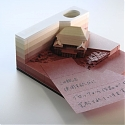 Excavate The Hidden Architecture Models Inside These Unique Note Pads - The Omoshiro Block