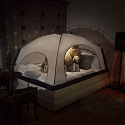 Room in Room Saves on Heating by Pitching a Tent Over Your Bed