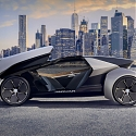 (Video) Futuristic Jaguar Land Rover Future-Type Concept Car for The Year of 2040