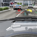 Continental Puts Augmented Reality Into The Windscreen with Its Head Up Display