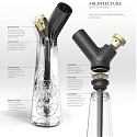 Aura Water Pipe : Modern Bong for Smoking Your Tobacco or Weed