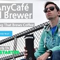 The AnyCafé Travel Brewer - The Travel Mug That Brews Coffee