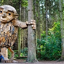 Thomas Dambo Hides Six 'Forgotten Giants' Across the Danish Woodland
