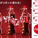 (Video) People Are Fascinated By This Holiday-Edition Coke Bottle From Japan