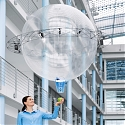 (Video) Flying Gripper Sphere Picks Up and Drops Off on Its Own - Festo
