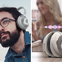 Origami Inspired Headphones Turn Into Speakers with Bonus Alexa Integration - AudiBall