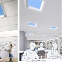 (Video) Mitsubishi's Fake LED Skylights Simulate Sunlight to Make Offices Feel Less Depressing