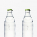 Nendo Creates Glass Bottle Capturing The Ripples of Natural Spring Water