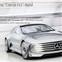 Mercedes Concept IAA Shape-Shifts for Improved Aerodynamics