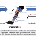 (Paper) Wearable Device Harvests Energy from Bending of the Knee