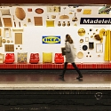 Ikea Turned a Paris Subway Station Into a Showroom, And It's Glorious