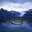 Norwegian Hotel in Arctic Circle Produces More Energy Than It Consumes