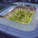 How Austria's Far Right Turned The Stadium Artwork 'For Forest' Into a Campaign Issue
