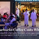 A Starbucks Coffee Costs What ?