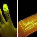 MIT - Novel Material Made of Living Cells Glows When Touching Certain Chemical Compounds
