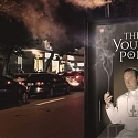 This Bus-Stop Ad for The Young Pope Gives Off Puffs of White Smoke