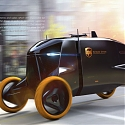 Land Rover Utaric Autonomous Delivery Van With Companion Drone
