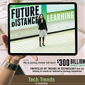(Infographic) The Future of Distance Learning - Tech Trends in eLearning