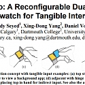 (PDF) Doppio : A Reconfigurable Dual-Face Smartwatch for Tangible Interaction