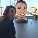 Would You Share Your Selfies on a Giant 3D Head ?
