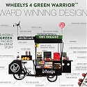 Wheelys 4 Mobile Cafe Produces Fresh Coffee and Fresh Air