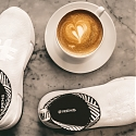 World's First Waterproof Shoe Made From Coffee - Rens