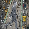 How NYT Magazine Made a 150-Foot Pedestrian for Its Walking Issue