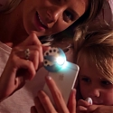 (Video) Mini Smartphone Projector for Interactive Bedtime Stories - Moonlite