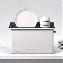 Toasher - Toaster-Inspired Space-Saving Dishwasher Pops Out Clean Dishes