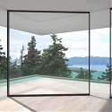 (Video) Designers Created a Sliding Glass Door That Can Turn Around Corners