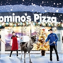 (Video) Domino's Pizza Cancels Reindeer Delivery Plan, Offers Reindeer-Cosplay Bikes Instead