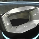 Jaguar Land Rover Sayer : Futuristic Steering Wheel and Reliable Companion