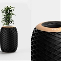 The Conceptual 'Air O' Air Purifier Discreetly Cleans Spaces