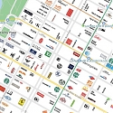 Personalized Smartphone Map Shows Users Their Favorite Places