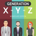 (Infographic) A Comparison Of Generation X, Y And Z At The Workplace