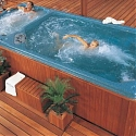 Cal Spas Go Green with New Swim Spas