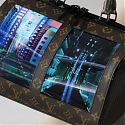 Louis Vuitton's Flexible OLED Screen Bags are the Future of Fashion