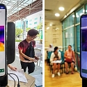 (Video) AI Powered Smartphone With Laser and Thermal Cameras to Screen Passersby for Fever
