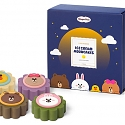 Häagen-Dazs Introduces Adorable LINE FRIENDS Mooncakes