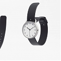 This Watch by Nendo Fuses Timepiece and Buckle Into One Single Element