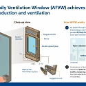 Novel Window Design Reduces Outdoor Noise and Improves Ventilation