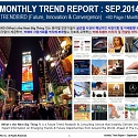 Monthly Trend Report - September. 2014 Edition